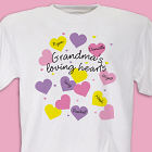 Loving Hearts Personalized T-Shirt