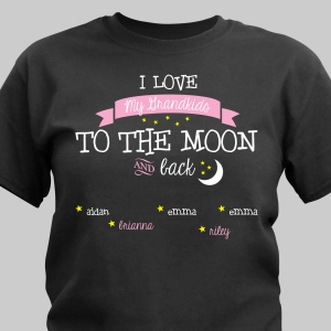 To the Moon and Back Custom T-shirt