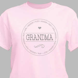 Personalized Name T-Shirt for Her 39622X