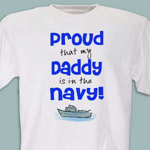 Proud Navy Youth T-shirt