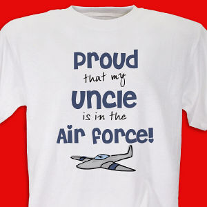 Proud Air Force Youth T-shirt