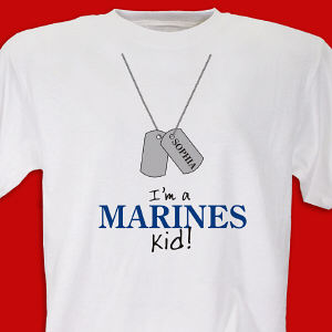 I'm a Marine kid Youth T-shirt