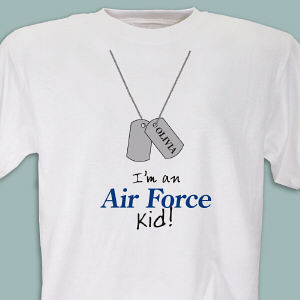 I'm an Air Force kid Youth T-shirt
