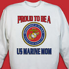 Proud To Be A... Personalized Military Sweatshirt