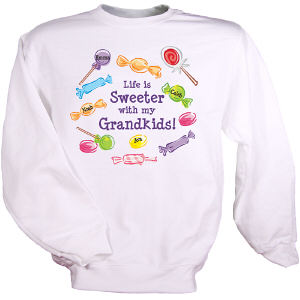 Life Is Sweeter Personalized Sweatshirt