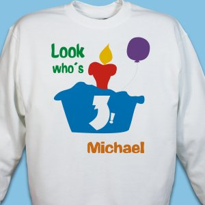 Personalized Birthday Youth Sweatshirt