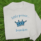 Personalized Little Prince Youth Sweatshirt