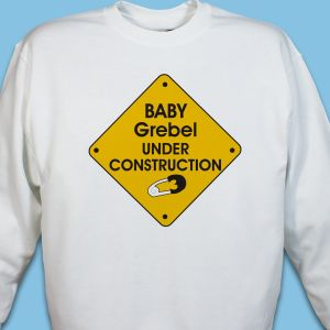 Under Construction Personalized Sweatshirt