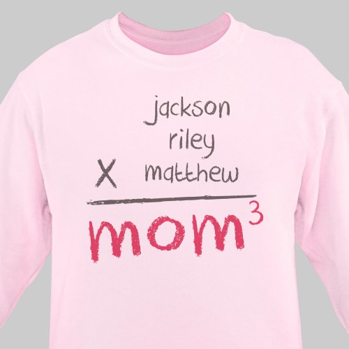 Personalized Mom Sweatshirt 57283X