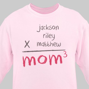 Mom Personalized Sweatshirt