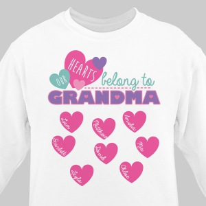 Custom Printed Grandma Sweatshirt