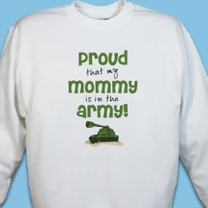 Proud Army Youth Sweatshirt