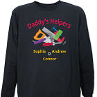 Personalized Helpers Long Sleeve Shirt 9074053X