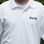 Embroidered Any Name Polo Shirt