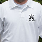 Embroidered Chef Polo Shirt