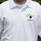 Embroidered Bowling Polo Shirt 923484X