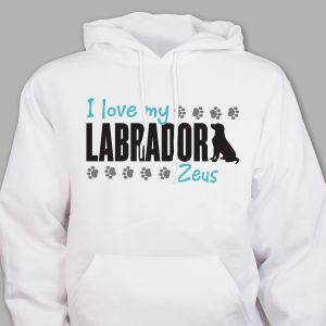 Personalized Pet Lover Hoodie
