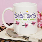 Personalized Sisters Coffee Mug