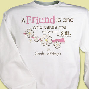 Friendship Personalized Sweatshirt