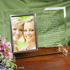 To My Sister... Beveled Glass Picture Frame