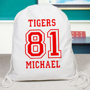 Personalized Athletic Sports Bag