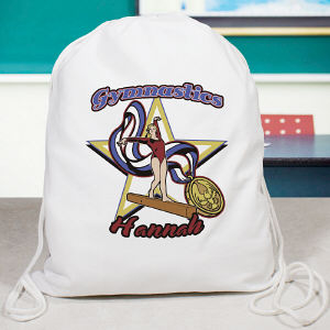 Personalized Gymnastics Sports Bag
