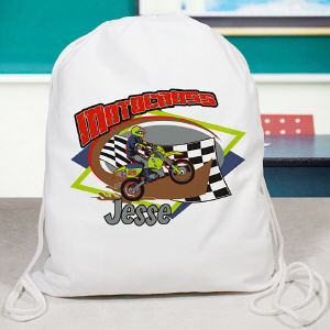 Personalized Motocross Sports Bag