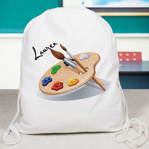 Personalized Artist Sports Bag