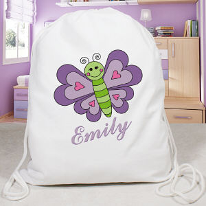 Personalized Butterfly Sports Bag