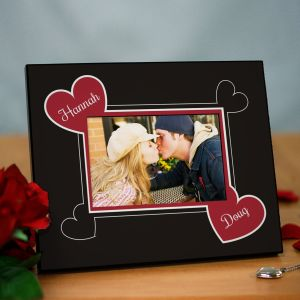 Personalized Couples Printed Picture Frame