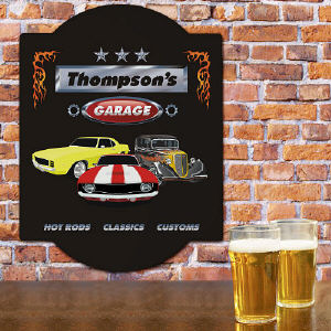 Personalized Classic Cars Sign