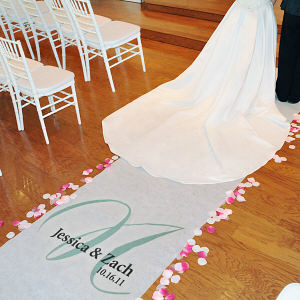Personalized Elegance Aisle Runner