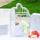 Bridcage Wedding Card Holder D1932