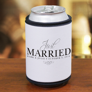 Just Married Koozie