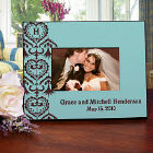 Custom Printed Wedding Picture Frame