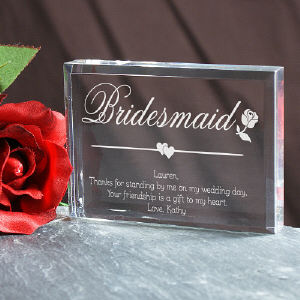 Bridesmaid Personalized Keepsake