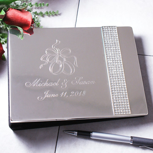 Wedding Day Personalized Guest Book 8534870