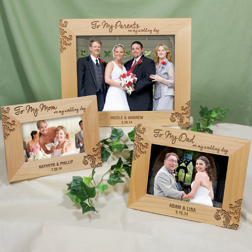 Engraved Parents Wedding Frame 97739X