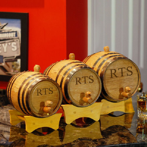 Engraved Bluegrass Barrels | Groomsmen Gift Ideas