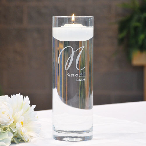 Engraved Floating Unity Candles DE3903FC