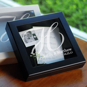 Wedding Wishes Shadow Box
