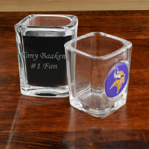 Engraved NFL Shot Glass