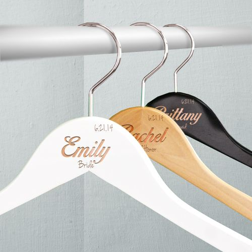 Engraved Bridal Party Hangers L762577X