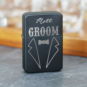 Engraved Groomsmen Lighter