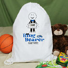 Personalized Ring Bearer Sports Bag