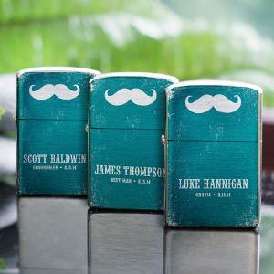 Personalized Wedding Party Lighter | Unique Groomsmen Gifts