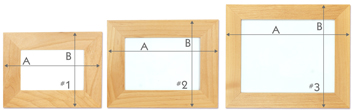 Wooden Picture Frame Sizes