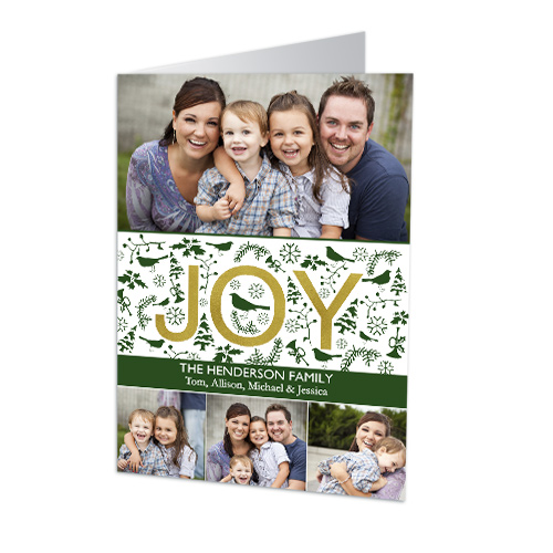 Joyful Wishes Photo Christmas Cards 1972610