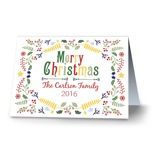 Festive Cheer Personalized Christmas Cards 1974210