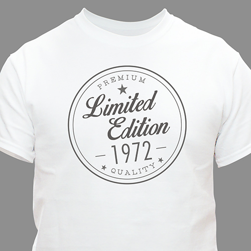 Personalized Limited Addition T-shirt 310528X